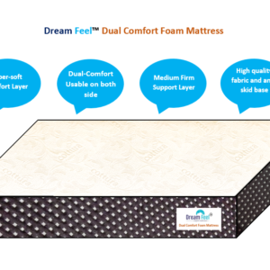dreamfeel-dual comfort mattress